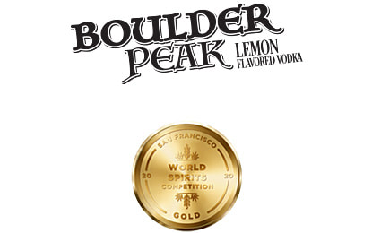 Boulder Peak Lemon Flavored Vodka